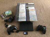PlayStation 2 with 50 games