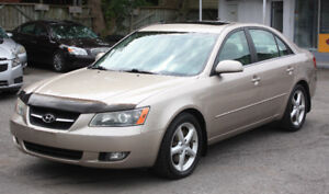 2007 Hyundai Sonata FULL OPT*leather*sunroof**CLEAN*only 124K KM