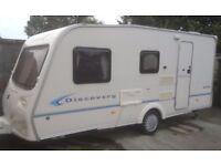 Bailey Discovery 2004 4/5 berth caravan