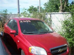 2007 Chevrolet Aveo LS RUNS AND DRIVES BUT SMELLS BAD AS-IS DEAL