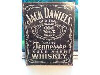 Jack Daniels retro design metal sign
