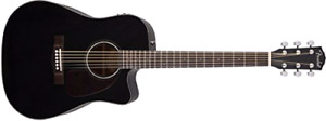 Electric acoustic Fender guitar reduced price
