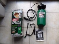 RONSEAL FENCE SPRAYER NEW