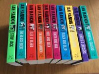 Ian Rankin paperback books - 10 in total - brand new