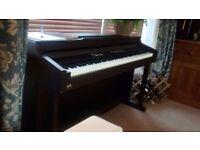 Diginova TG8826 electric piano 88 hammer touch sensitive keys