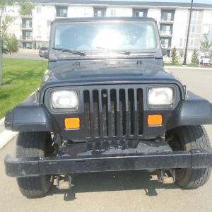 1994 Jeep YJ - Excellent Running Condition- Great for Winter