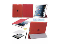 Ultra Thin iPad cover 2 3 4 new! Comes with 3 free gifts!