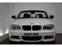 BMW 1 SERIES 2.0 118D SPORT PLUS EDITION 2d 141 BHP (white) 2013