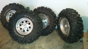 Bighorn tires on Can-am Rims