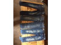 Girls jeans bundle age 10