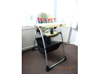CHICCO Baby/Toddler High chair seat