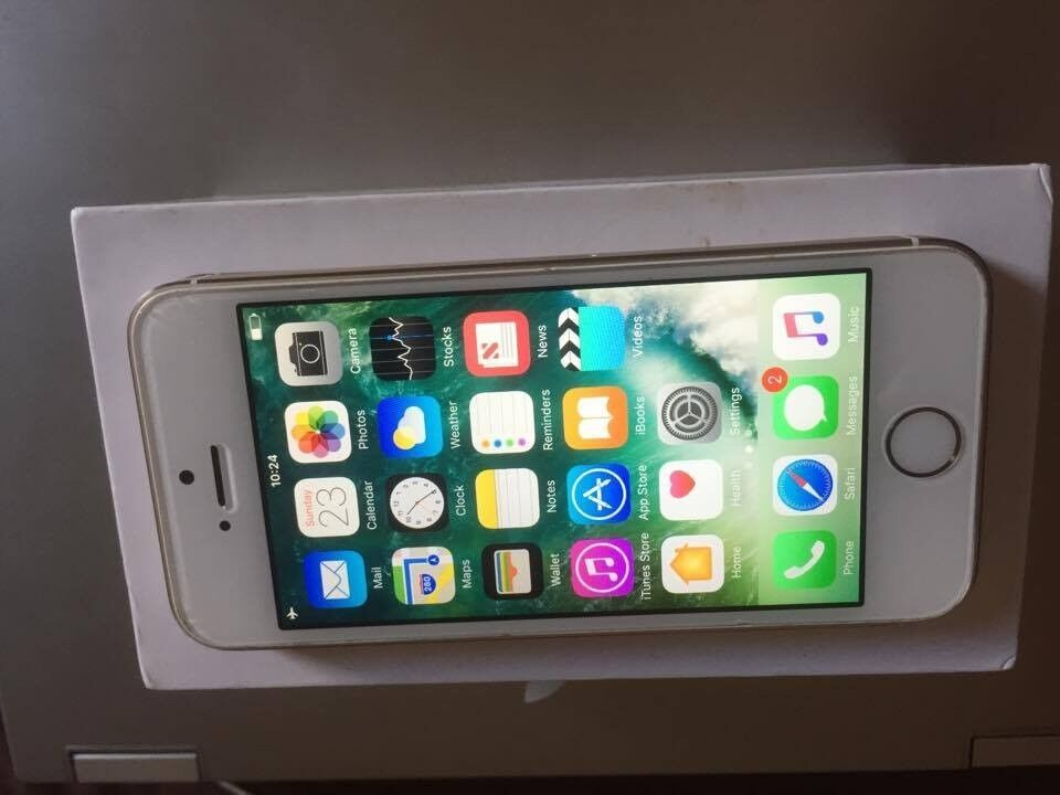 Apple iPhone 5s Gold Unlockedin Watford, HertfordshireGumtree - Apple iPhone 5s Gold, Unlocked iPhone 5S 16GB in Gold. In great working order, and is unlocked so you can use it on ANY network. Great battery life! Almost in mint condition. Device comes with box and charging cable. NO offers, please!!!