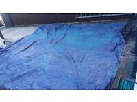Waterproof tarpolin
