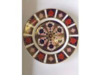 Genuine Royal Crown Derby 'OLD IMARI' Pattern 1128 Tea/side Plate 16cm GOLD❤