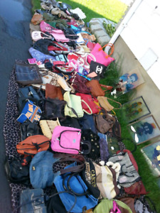 Over 100 different purses