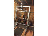 Bodymax cf380 smith machine multi gym