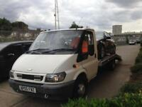 2005 Ford Transit Lwb Tow Recovery Truck 2.4 T350 Best Truck About Mint Remap 125ps