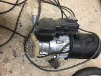 RAC hilka pressure washer motor and pump