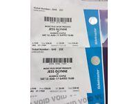 Jess Glynn tickets at Alnwick x2