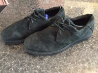 KR3W SKATE SHOES PAID 120 IN LEATHER AMAZING CONDITIONS ONLY £19!!!