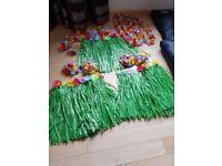 3 hula girl costumes