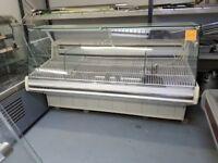 2 Metre Wide Straight Glass Serve Over Display Fridge AST154