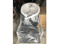 Hairdressing wash basin and chair,brand new, still in packaging, unused. Basin £299, chair £199 Ono
