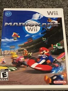 Wii Game- Mario Kart and 2 wheels
