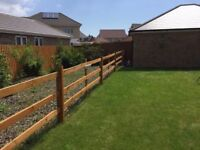 3 Tier Fence With Gate