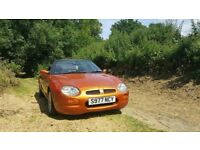 mgf 1.8 moted lovely convertible