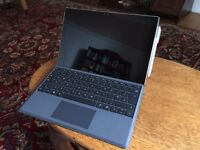 Surface Pro 4 i7 8GB Ram 256 SSD with Keyboard and Pen (ideal for students)