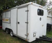 Wells Cargo 14' Concession Trailor Candy Floss Sno Kone Popcorn