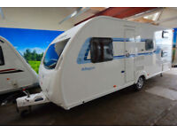 2012 Sprite Major 6 6 Berth Touring Caravan with Fixed Bunks