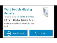 Double glazing repairs, we cover south east London and kent
