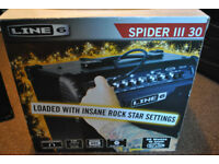 Line 6 Spider iii 30W Guitar Amp and FBV Express MKII