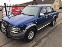 2005 FORD RANGER XLT THUNDER, 1 YEAR MOT, WARRANTY, NOT NAVARA L200 HILUX