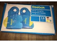 Reebok Wrist Weights (1.5Kg each)