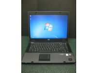 HP COMPAQ 6710b LAPTOP,3GB RAM.15.4 SCREEN.WINDOWS 7. MS OFFICE 2007. WIFI
