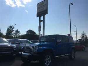 2015 Jeep WRANGLER UNLIMITED Sahara *Leather* Nav*