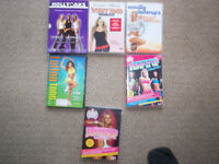 fitness dvds x 7 for £1.50