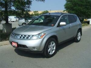 2003 Nissan Murano SE AWD / LEATHER / P.SUNROOF