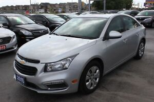2015 Chevrolet Cruze 1LT  Bluetooth Sunroof Backup Cam