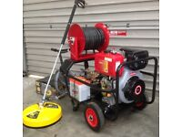 All in picture inc in price 3000 psi diesel washer , Whirlaway 100 ft hose reel