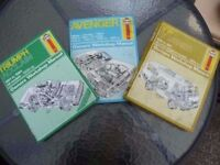 VW LT SERIES and Avenger and Triumph Haynes Manual Delivery Available £10