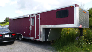 2003 28ft fifth wheel Toy Hauler conversion