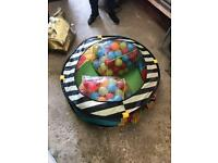 ELC ball pit with 2 bags of balls