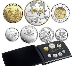 2017 Fine Silver Proof Set - 150th Canadian Anniversary