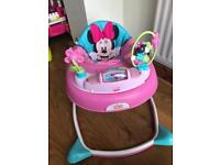 Minnie Mouse baby walker (boxed)