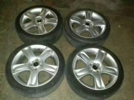 """17"""" alloy wheels 4x100 mini S"""
