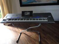 YAMAHA TYROS 5 ,,,,76 note Pro top of the range keyboard